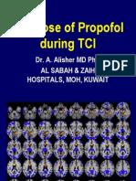 IV Tci Propofolthedoseofpropofol2012