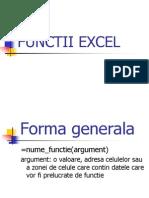 Prezentare Functii Excel