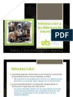 diseño y administracion de sistemas
