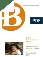 Diagnostico Situacion de Las Mujeres en Coahuila
