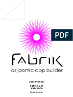 Fabrik User Manual 2 0 Rev1