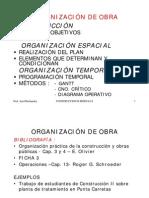 Organizacion de Obra