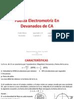 2 Fuerza Electromotriz en Devanados de CA
