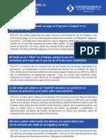 Mitos y Verdades de La Reforma Del Spp