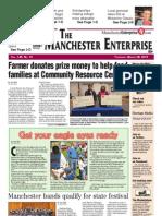 Manchester Enterprise front page March 28, 2013
