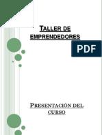 Taller de Emprendedores- Clase 1-08-08-2011