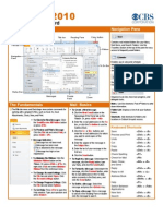 Outlook 2010 - CBS Quick Reference Guide