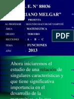 FUNCIONES - 2013