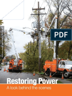 Orange and Rockland Restoring Power brochure