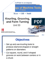 Knurling Grooving and Form Turning