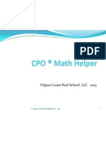 cpo  math helper