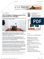 Why Employee Engagement is Not Important (Yes, Really) | Inc.com