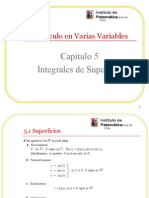 5. Integrales de Superficie