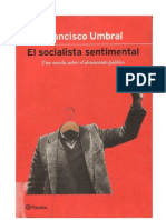 Umbral, Francisco - El Socialist A Sentimental