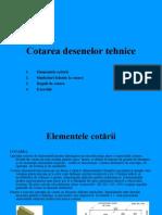 DTI 04 Cotarea Desenelor Tehnice