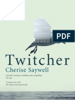 Reading Group Questions for Twitcher by Cherise Saywell