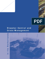 Disaster Control and Crisis Management in the Netherlands