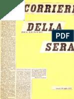 """Che male c'è se il nostro simile è 'diverso'""""? (Il Corriere della Sera, 30 luglio 1979)"""