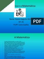 A Musica e a Matemática KASSIO