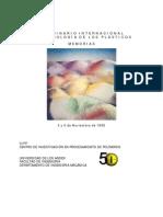 Memorias II Seminario Internacional en Tecnología de los Plásticos