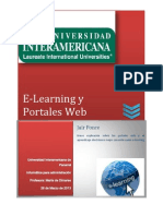 E-Learning y Portales Web_Jair Ponce