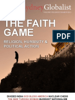 "The Sydney Globalist Volume VIII, Issue II - ""The Faith Game"