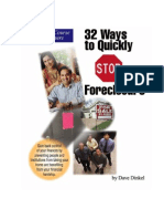 BOOK - 32 Ways to Stop Foreclosure
