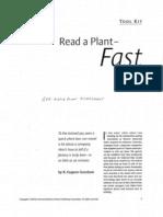 Rapid Plant Assessment - Lead - Read a Plant Fast