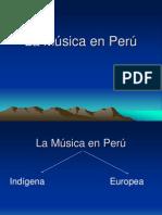 4. La Música en Perú