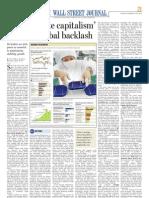China's State capitalism sparks a global backlash Mint 18 November, 2010