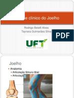 EXAME FÍSICO JOELHO