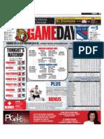 Senators gameday