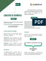 Português - Aula 03 - Conceitos de Semântica