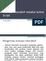 Animasi Interaktif Melalui Action Script