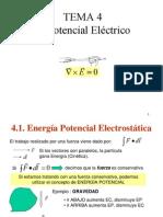 Tema 4 Potencial Electrico