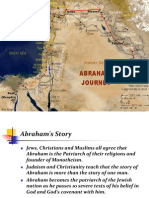 Abraham's Journey Map