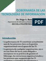 Gobernanza de Tecnologías de Información