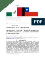 La educación México vs Chile Version Origin al y AZ en Imagenes