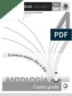 Antologia Cuarto Lectura