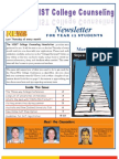 NIST College Counseling Newsletter for Year 12 Students March 28, 2013