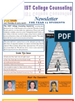 NIST College Counseling Newsletter for Year 13 Students March 28, 2013