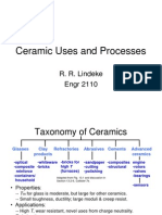 Ceramic Uses and Processes