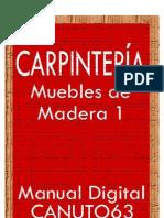Carpinteria. Muebles de Madera