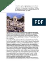 orígenes míticos del oráculo de Apolo y algunos aspectos de su ritual