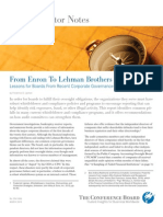 From Enron to Lehman Brothers