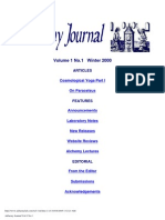 Alchemy Journal, Vol.1 No.1 2000