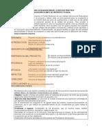 Guía para la Evaluación ex ante de un proyecto real (1)
