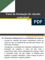 Fases de forma+º+úo do v+¡nculo contratual- slide 2