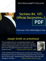 LDS Doctrine and Covenants Slideshow 18