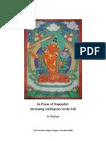86807178 Mipham in Praise of Manjushri Increasing Intelligence to the Full